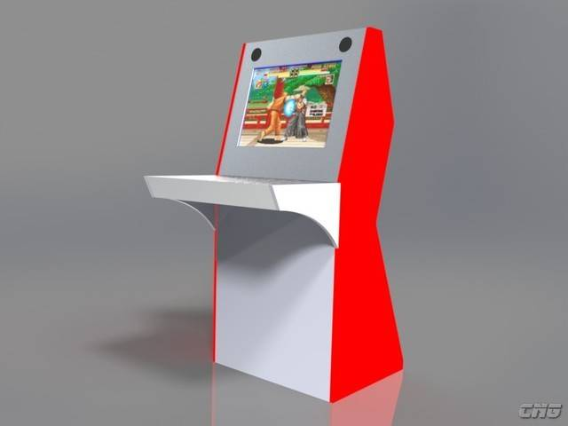 Construye tu propia m quina recreativa dise o y montaje for Mueble maquina recreativa